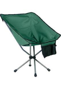 Cadeira Dobrável Verde Em Aço - Guepardo Portátil Joy 600D Verde