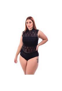Body Sig Estilo De Renda Plus Size