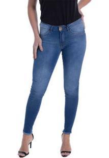 Calça Jeans Denuncia New Skinny Feminina - Feminino