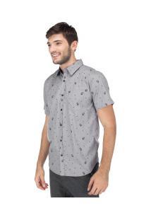 Camisa Hd 4697A - Masculina - Cinza Escuro