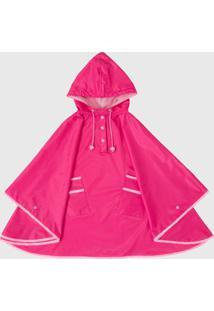 Capa De Chuva Infantil Kidsplash! Com Capuz Pink