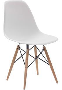 Cadeira Em Policarbonato Eames 2 47X55Cm Branca