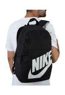Mochila Nike Elemental 2.0 - Preto/Branco