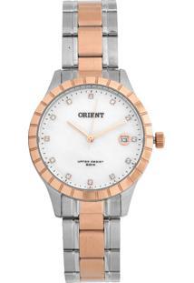 Relógio Orient Ftss1115-B1Sr Prata/Rosê
