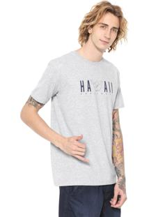 Camiseta Hang Loose Hawaii Cinza