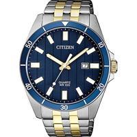5a83628ebe2 Relógio Citizen Analógico Tz31114A Masculino - Masculino-Prata+Azul