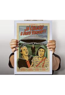 Poster Disco Voador