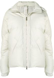 Giorgio Brato Leather Down Jacket - Neutro