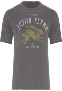 Camiseta Masculina Rabbit - Cinza