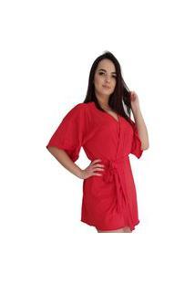 Robe Feminino All Store Liganete Vermelho