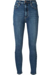 Nobody Denim Calça Jeans Siren Skinny Ankle Prime - Azul