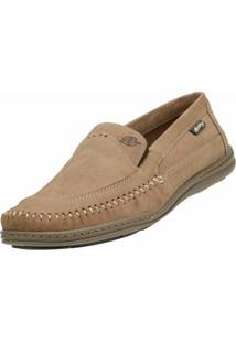 Sapato Social Alcalay Nobuck Bege