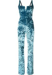 Galvan Glamorous Playsuit - Azul