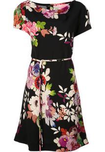 Natori Vestido Casual Com Estampa Floral - Preto