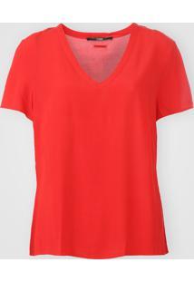 Camiseta Forum Textura Vermelha