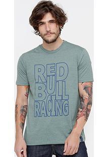 Camiseta Red Bull Racing Color Masculina - Masculino