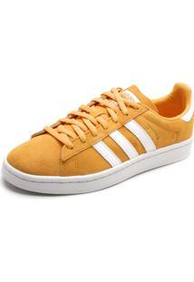 3c3fdf1cfbb89 ... Tênis Couro Adidas Originals Campus W Amarelo