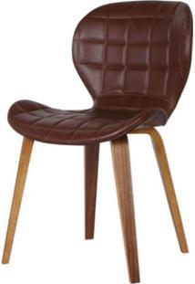 Cadeira Lucia Cor Marrom - 31686 - Sun House