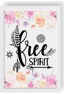 Quadro Love Decor Decorativo Free Spirit Branco