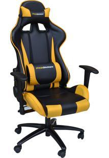 Cadeira Office Pro Gamer V2 Preta E Amarela Rivatti Mã³Veis - Preto - Dafiti