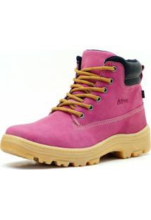 Bota Atron Shoes - Feminino-Rosa
