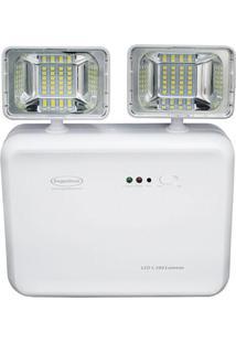 Luminária De Emergência Led Segurimax 1200 Lumens 2 Faróis