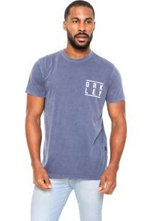Camiseta Oakley Paintless Azul