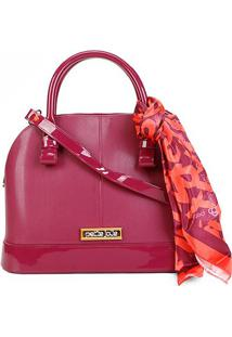 Bolsa Petite Jolie J-Lastic Alisha Bag Feminina - Feminino-Pink