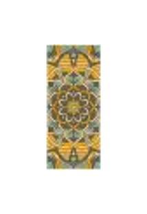Adesivo Decorativo De Porta - Mandala - 2437Cnpt