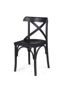 Cadeira Bristol Preto 79 Cm (Alt) - 46017 Preto