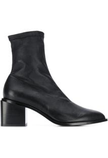Clergerie Ankle Boot Slip-On - Preto