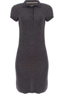 Vestido Piquet Molinet Shine Aleatory - Feminino-Preto