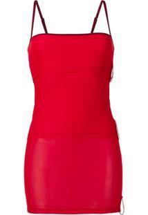Y/Project Blusa Slim - Vermelho