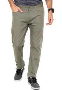 Calça Sarja Oakley Reta 50'S Pant Verde