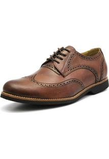Sapato Shoes Grand Oxford Shoes Gran - Masculino-Marrom Claro