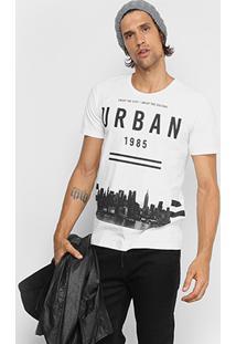 Camiseta Kohmar Urban City Masculina - Masculino-Off White