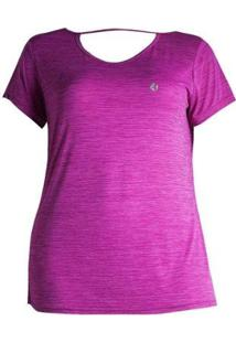Camiseta Plus Size Way Pure Feminino - Feminino