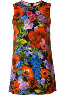 Dolce & Gabbana Regata De Seda Floral - Estampado