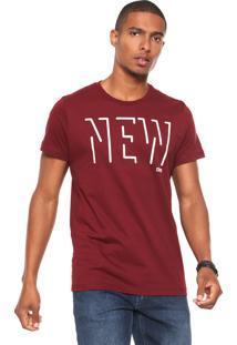 Camiseta Colcci New Vinho