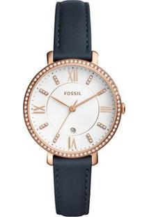 Relógio Fossil Feminino Core - Es4291/2Bn Es4291/2Bn - Feminino-Marinho