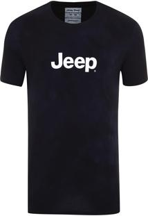 Camiseta Jeep Washed Tie Dye Verde