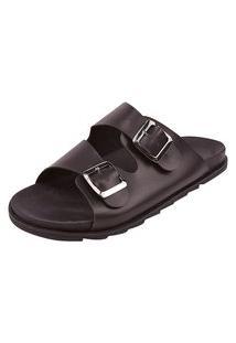 Birken Uzze Sapatos Fivela Preta