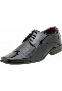 Sapato Bbt Footwear Social. - Masculino-Preto