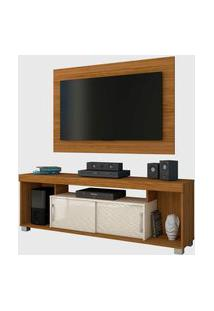 Rack C/ Painel Pierre Naturale/Off White Madetec