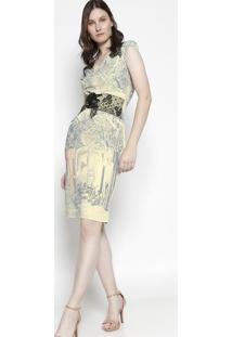 5825d147b Vestido Ilhos Manga Curta feminino | Gostei e agora?