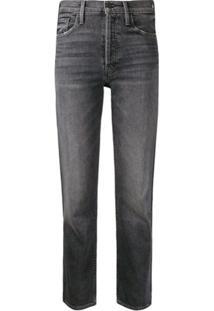 Mother Calça Jeans Com Detalhe Destroyed - Preto