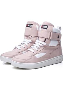Tenis Rock Fit Toquio Rose E Branco