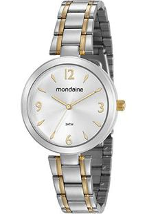 Relógio Mondaine Analógico 53609Lpmvbe2 Feminino - Feminino-Prata