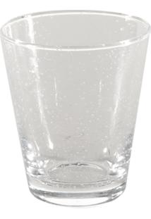 Vaso Bianco & Nero Transparente