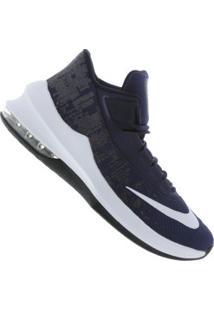 Tênis Nike Air Max Infuriate 2 Mid - Masculino - Azul Esc/Branco